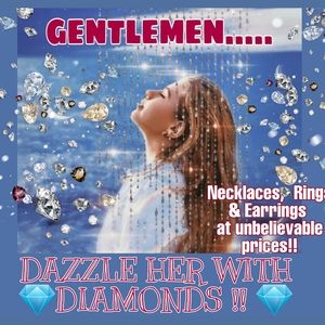 OVER 20 GENUINE 💎 DIAMOND PIECES TO CHOSE FROM!!